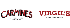 Carmine's NYC & Virgil's Real BBQ logo