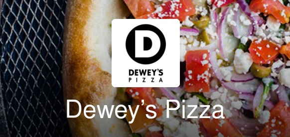 Image result for dewey's pizza cleveland